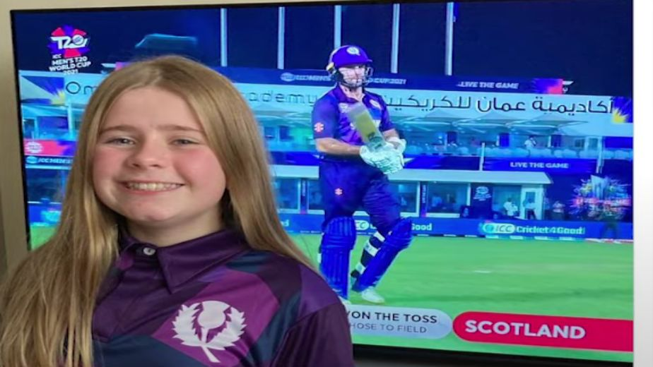 Scotland's jersey T20 WC jersey designed by 12-year-old