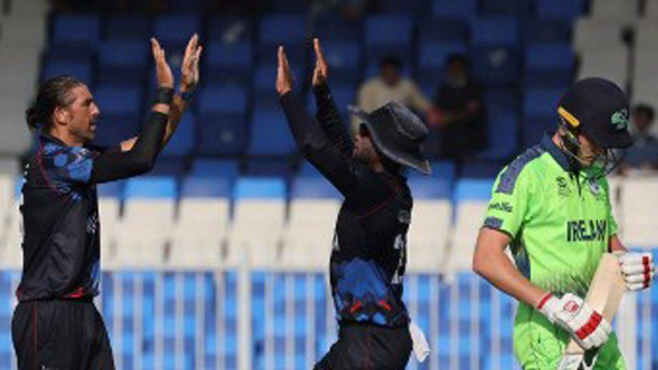 आयरलैंड को आठ विकेट से हराकर नामीबिया सुपर 12 में