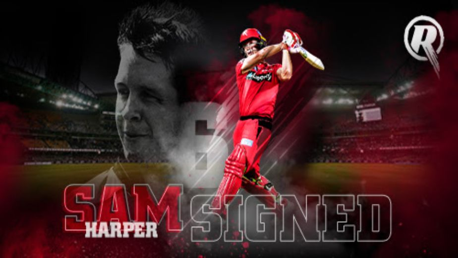 BBL | Sam Harper Extends Contract with Melbourne Renegades
