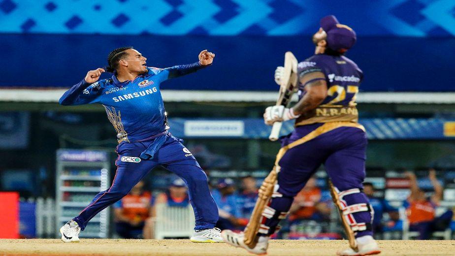 IPL 2021 - Rahul Chahar scripts a stunning comeback as MI beat KKR by 10 runs