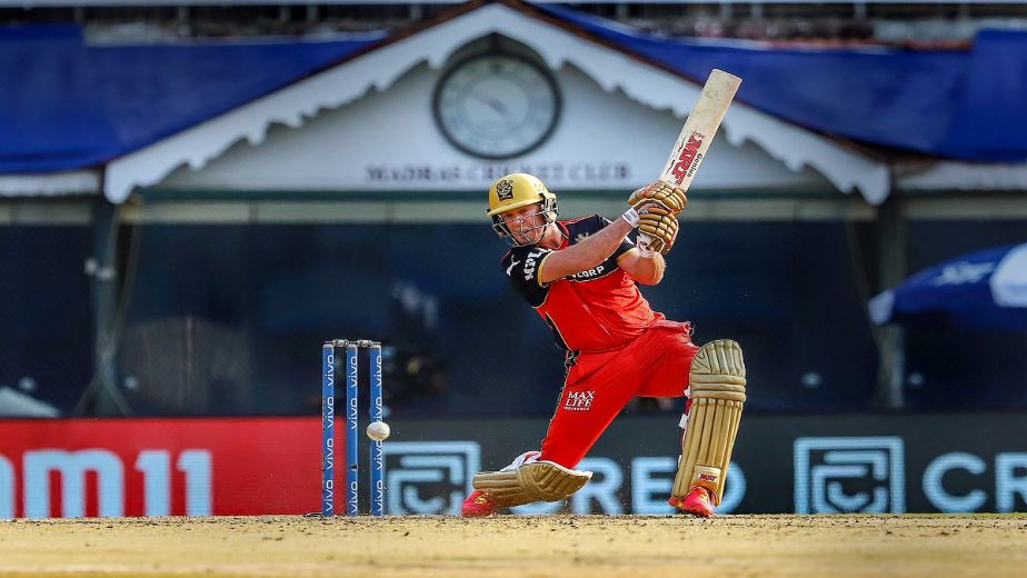 AB de Villiers and Maxwell power RCB to a 38 run victory against KKR