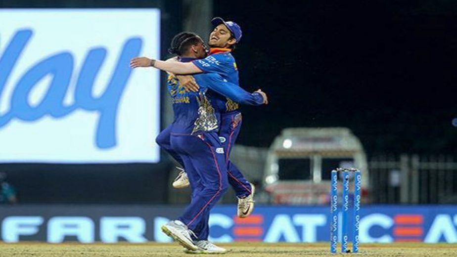 IPL 2021 - Rahul Chahar, Trent Boult star as MI register a 13 run victory against SRH