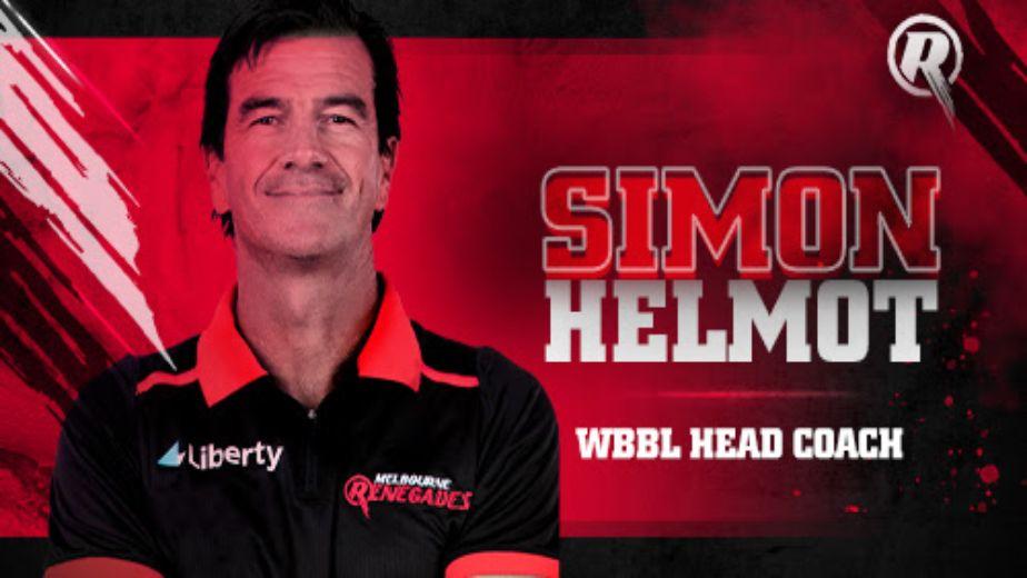 Melbourne Renegades appoint Simon Helmot as WBBL Coach