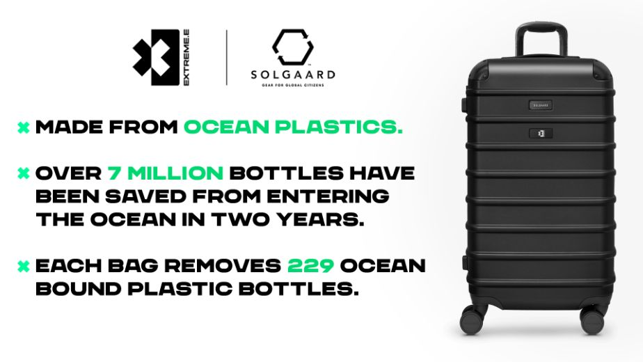 Solgaard teams up with Extreme E to provide sustainable luggage