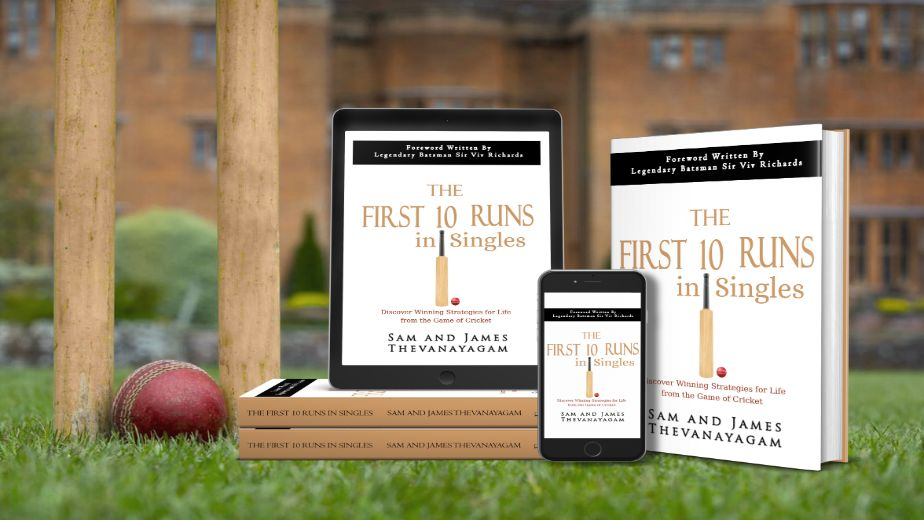 Samuel Thevanayagam's book 'The first Ten Runs in Singles' brings learnings from the cricket field for corporate leaders
