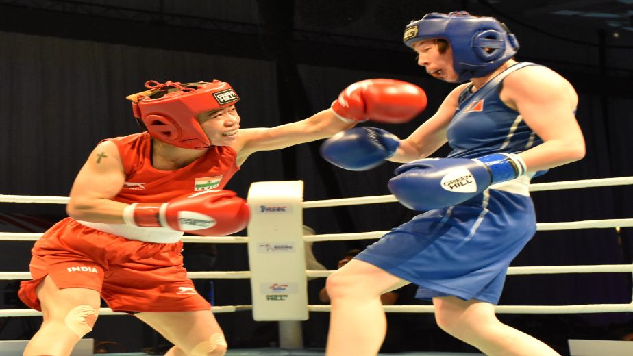Indian boxer Mary Kom reaches finals of 2021 ASBC Asian Boxing Championships
