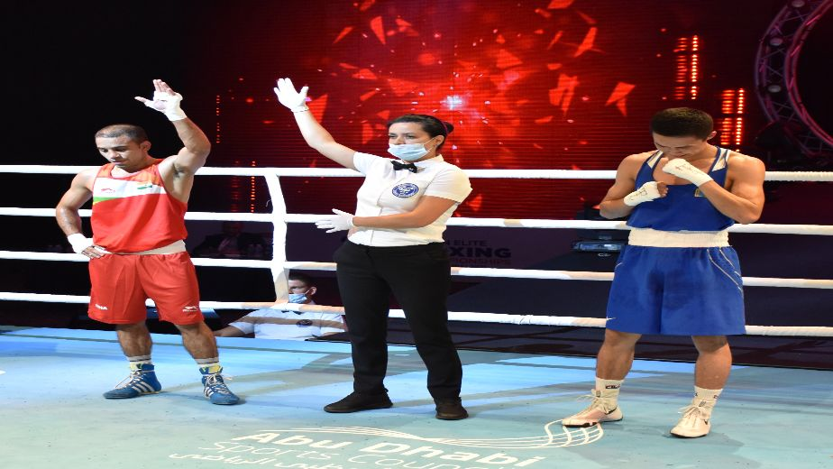 2021 ASBC Asian Boxing Championships: India's Panghal advances into final, sets up summit clash against Shakhobidin