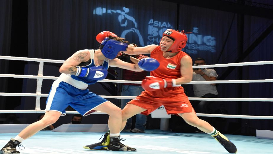 2021 ASBC Asian Boxing Championships: Mary Kom settles for silver, Pooja Rani claims Gold; 3 Indian Boxers to contest the men's finals today