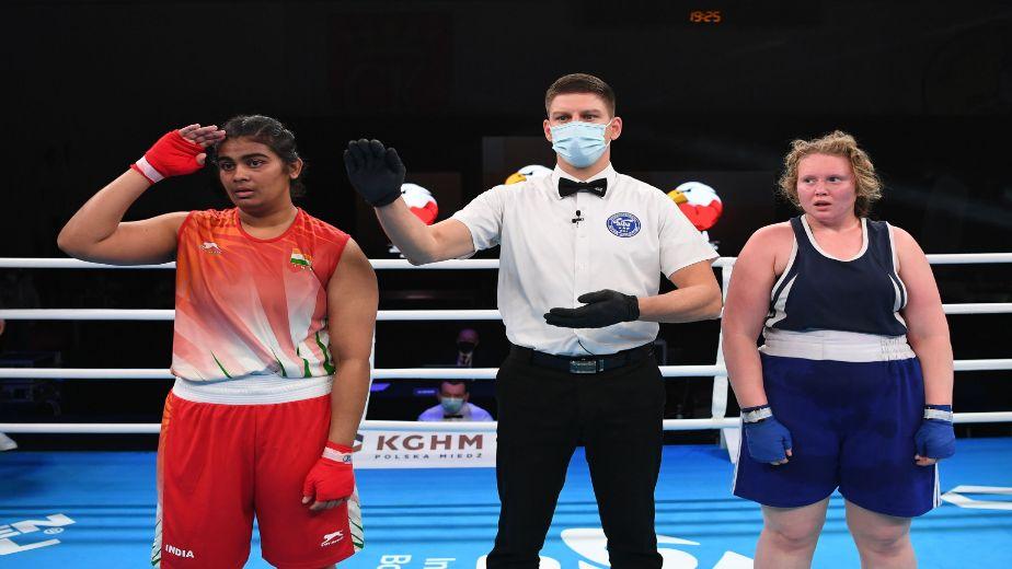 I give my 100% everywhere I go  - Alfiya Pathan, boxing gold medallist