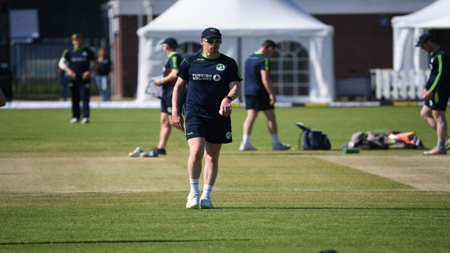 Ireland Skipper Andrew Balbirnie seeks a more positive approach in Game Two