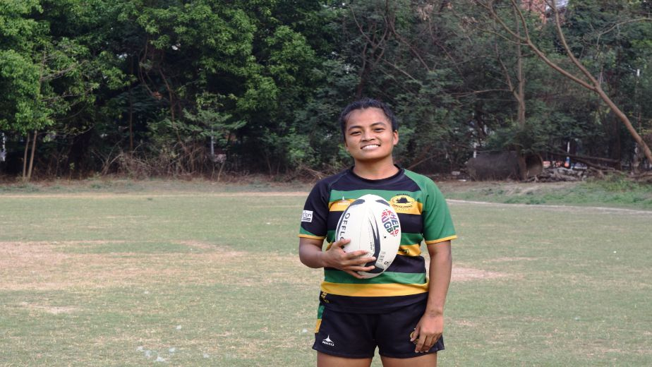 Rugby has completely changed my life, it's a misconception that rugby is a very difficult contact sport - Sandhya Rai, Rugby player