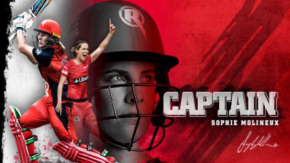 Women's Big Bash League - Sophie Molineux named Melbourne Renegades captain