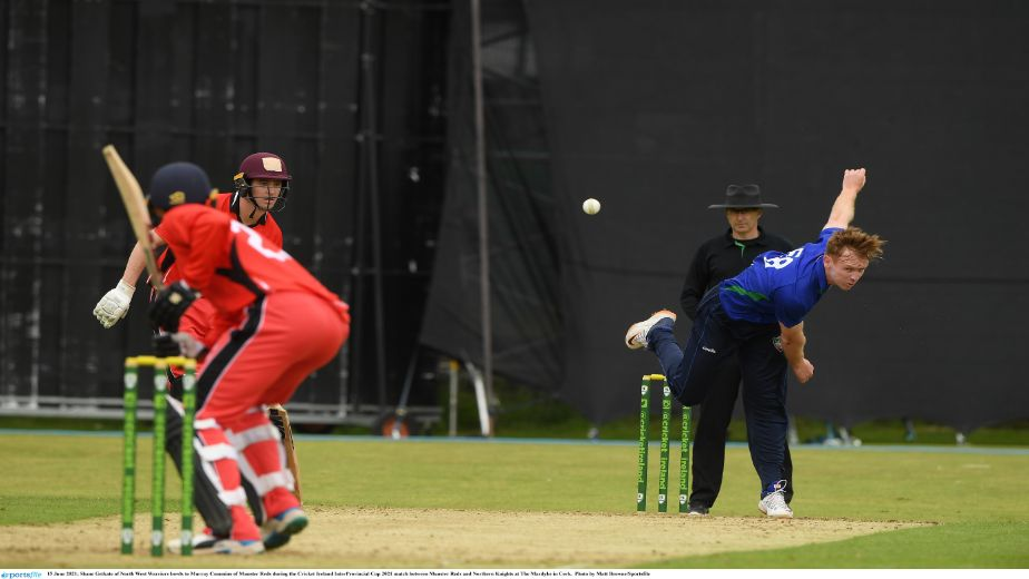 Inter-Provincial Cup: Porterfield century leads North West Warriors to a 4 wicket victory over Munster Reds