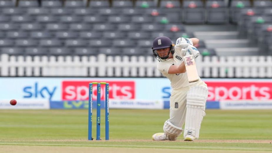 Knight leads England from the front; late wickets helps Indian Women bounce back on the Opening day