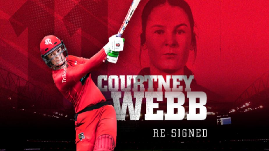 BBL: Courtney Webb signs new deal with Melbourne Renegades
