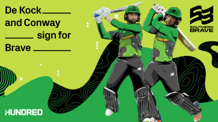 The Hundred: Cricketers Devon Conway and Quinton de Kock join Southern Brave