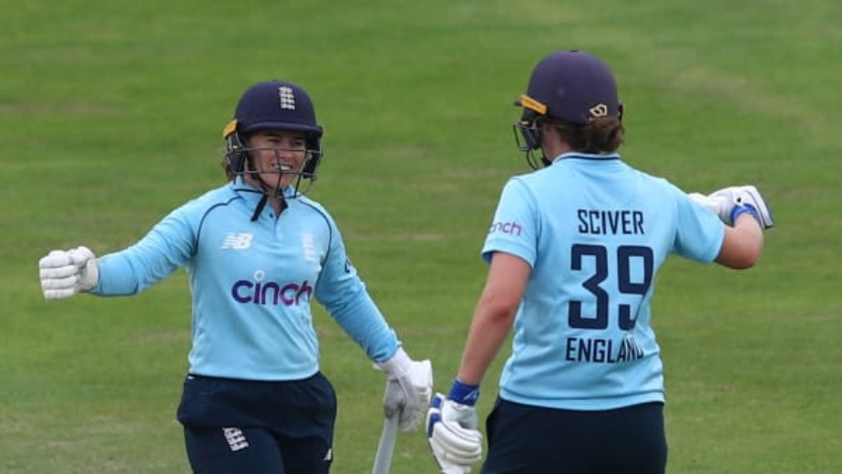 England Women's cricket team beat India by 8 wickets in the first ODI