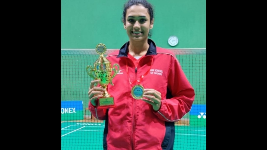 My aim is to be ranked first in India's domestic circuit - Indian badminton star Vaidehi Choudhari