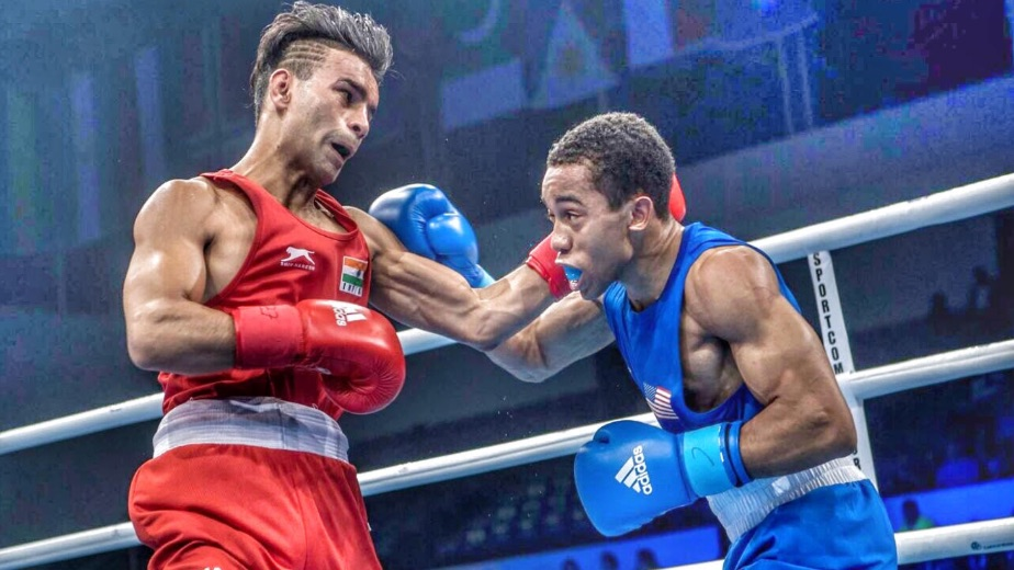 My ambition is to fulfill my father's dream of winning an Olympic medal - Indian boxer Gaurav Bidhuri