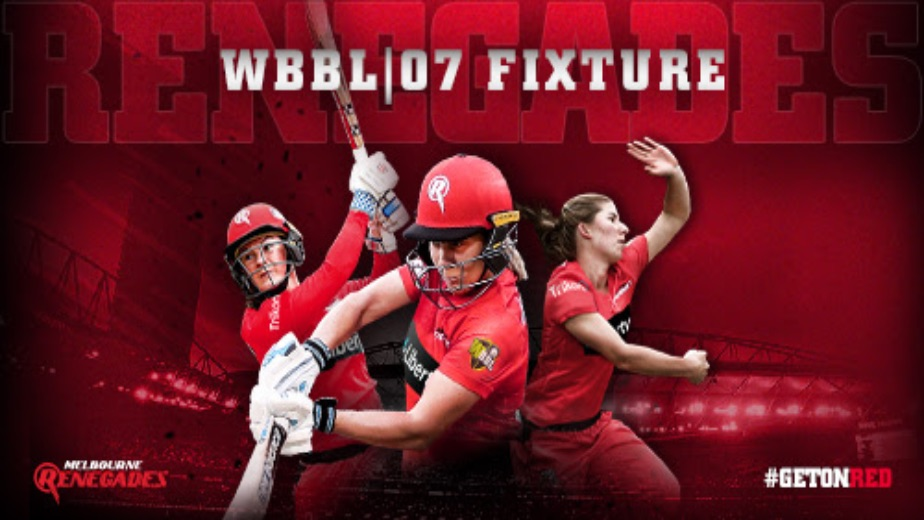 Melbourne Renegades announce fixtures for WBBL|07