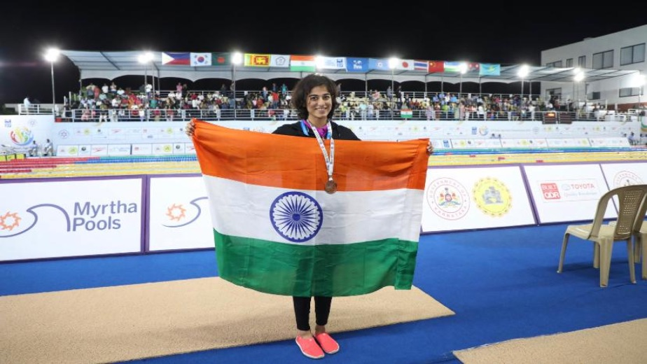 India's 50m butterfly record holder Divya Satija is setting her sights on the Asian Games