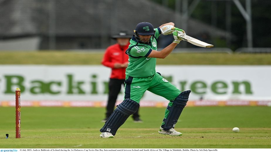 Rain played spoilsport as Ireland took on South Africa in the DafaNews ODI series