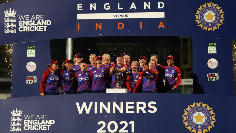 England Women's cricket team claim the multi-format series 10-6