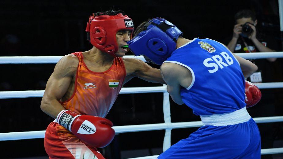 Haryana boxer Deepika defeats reigning World Youth Champion Alfiya Pathan at 4th Youth National Boxing Championships
