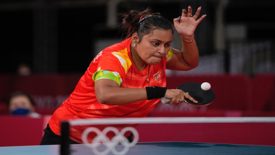 Sutirtha loses in straight games the 2nd Round in Tokyo