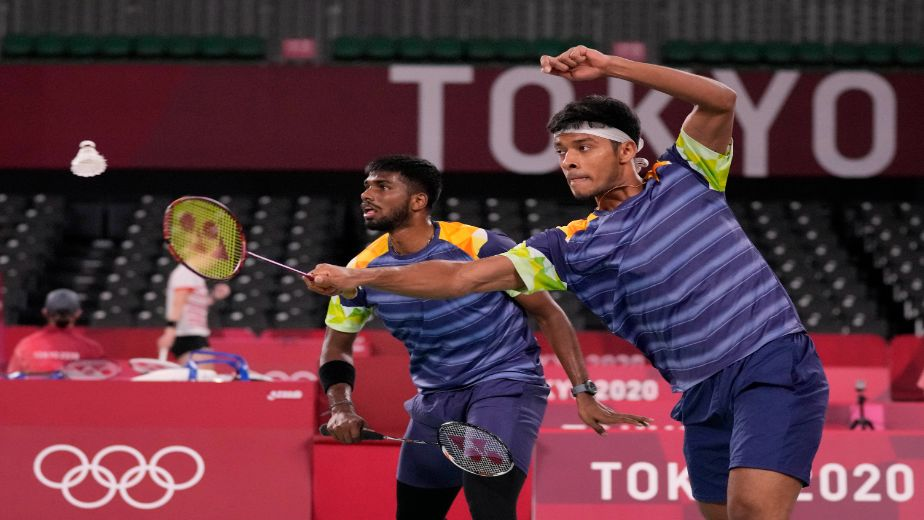 Chirag Shetty and Satwiksairaj Rankireddy lose to the world no 1 pair of Gideon and Sukamuljo of Indonesia