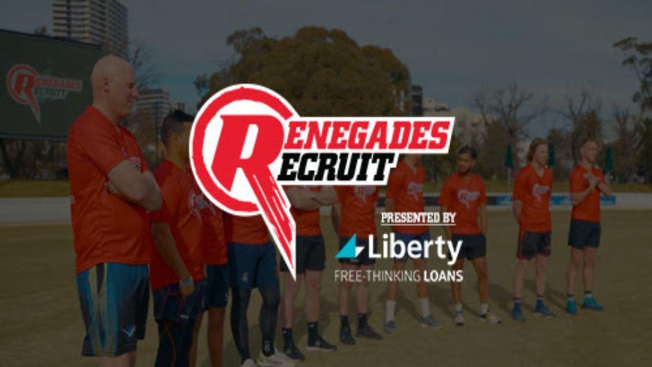 Renegades Recruit miniseries launches tonight