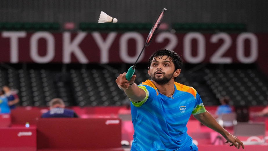Sai Praneeth crashes out of Tokyo Olympics after losing against Mark Caljouw