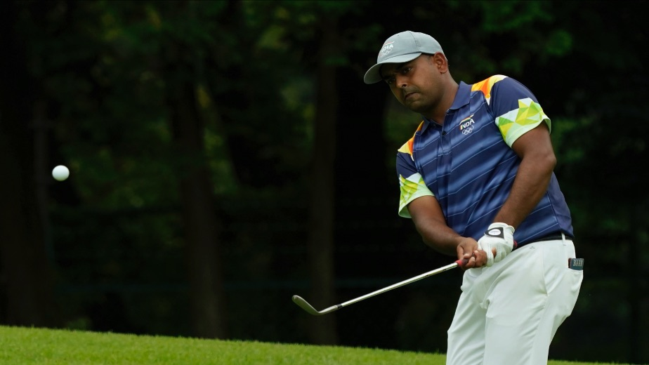 Indian golfer Anirban Lahiri T-8th after Round 1 in the Tokyo Olympics