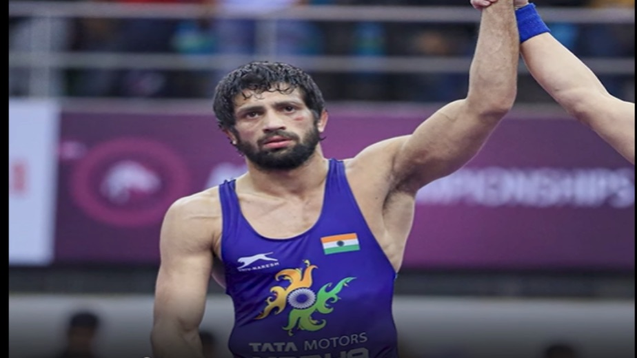 Ravi Kumar Dahiya assures India a silver medal in the 57kg freestyle category