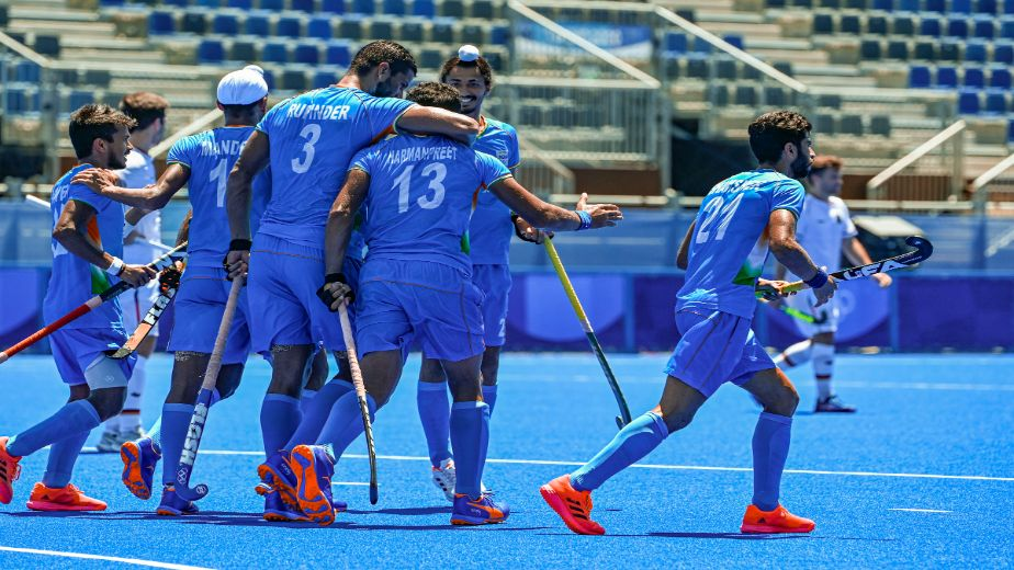 Indian men's hockey team win first Olympic medal in four decades, defeat Germany 4-5