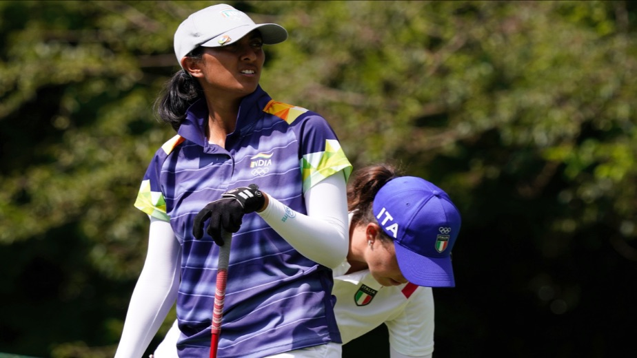 Indian golfer Aditi Ashok tied 2nd in Women's Individual round 2 at the Tokyo Olympics