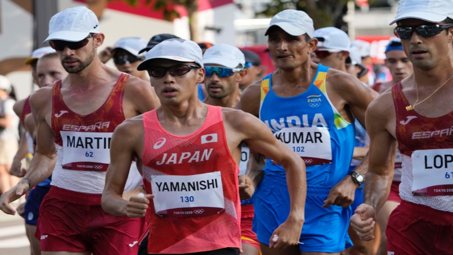 Tokyo heat takes its toll on 20km Men's walk as Indians struggle to make a mark