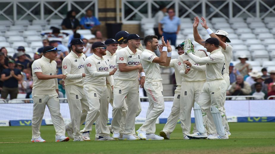 James Anderson causes Indian collapse as rain spoils the party on day 2 at Trent Bridge