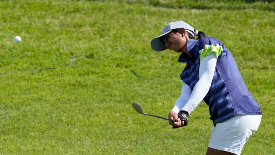 Indian golfer Aditi Ashok holds 2nd spot in Round 3 at the Tokyo Olympics
