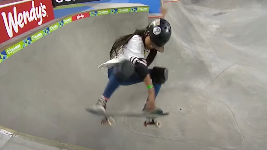 12 year old Japanese skateboarder Kokona Hiraki becomes youngest ever Olympics medalist; Mary Hanna became the oldest ever to participate