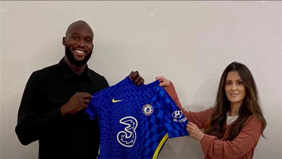 Romelu Lukaku returns to Chelsea from Inter Milan for a club record fee of 97 million pounds