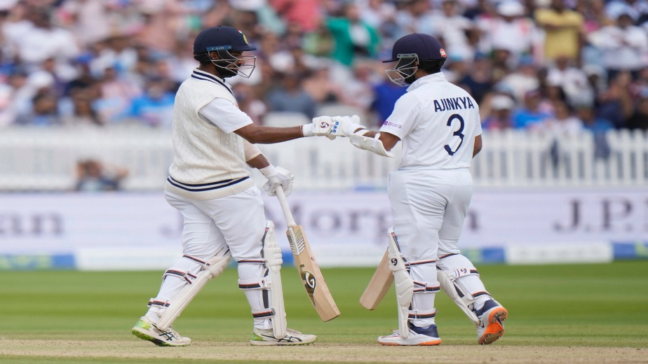 Resilient day 4 display by Rahane and Pujara keeps India in the game
