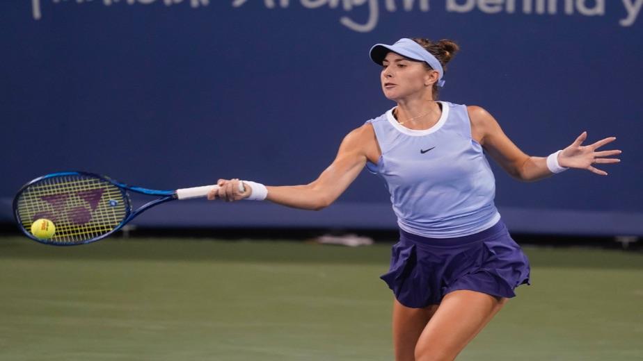 Top four seeds into the last four in Cincinnati, Jil Teichmann upsets Belinda Bencic