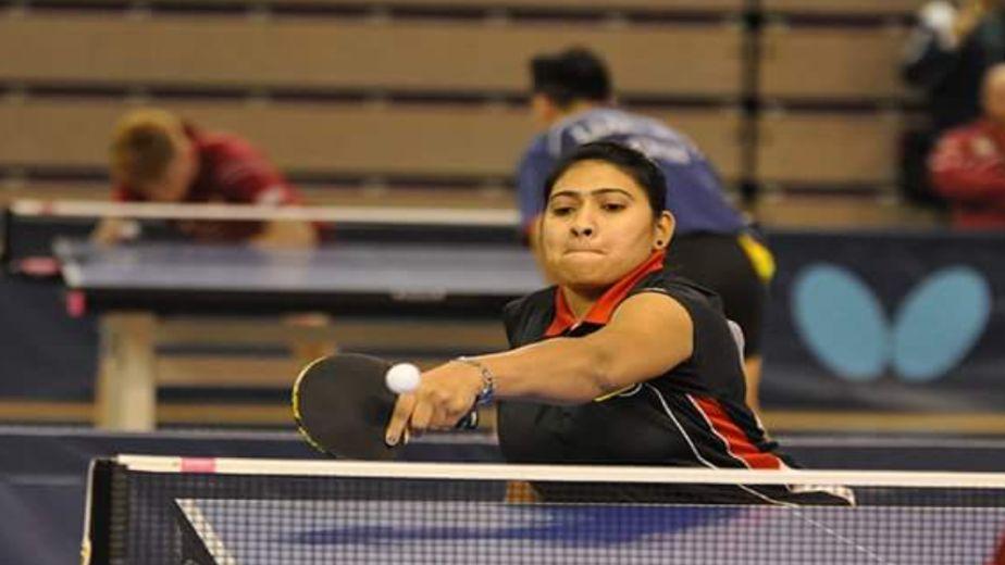 China's Li Qian defeats Sonalben Patel in table tennis opener at the Tokyo Paralympics