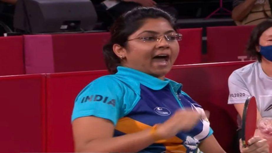 Bhavina Patel defeats reigning Paralympics champion Borislava Peric 3-0 to progress to the semifinals in Tokyo