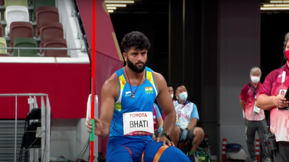 Rajneet Bhati fails to make a mark in Men's Javelin Throw F57 in the Tokyo Paralympics