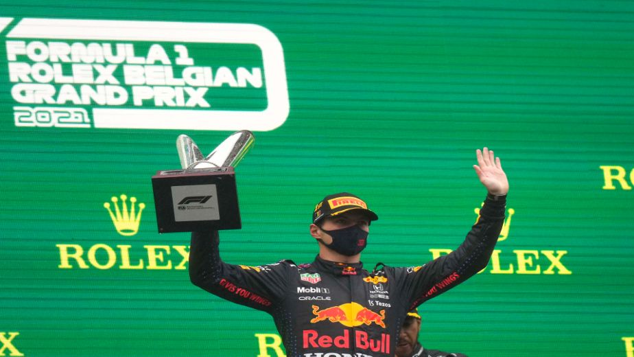 Max Verstappen wins the shortest Formula 1 race in history as Belgium Grand Prix is red-flagged due to heavy rain