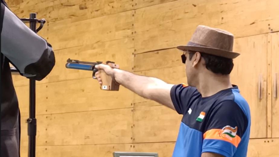 Singhraj takes the Bronze in Men's 10m Air Pistol SH1 at the Tokyo Paralympics