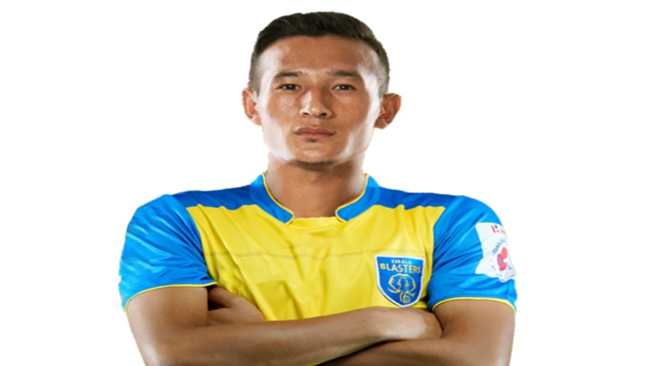 Chencho Gyeltshen joins Kerala Blasters FC ahead of the Indian Super League