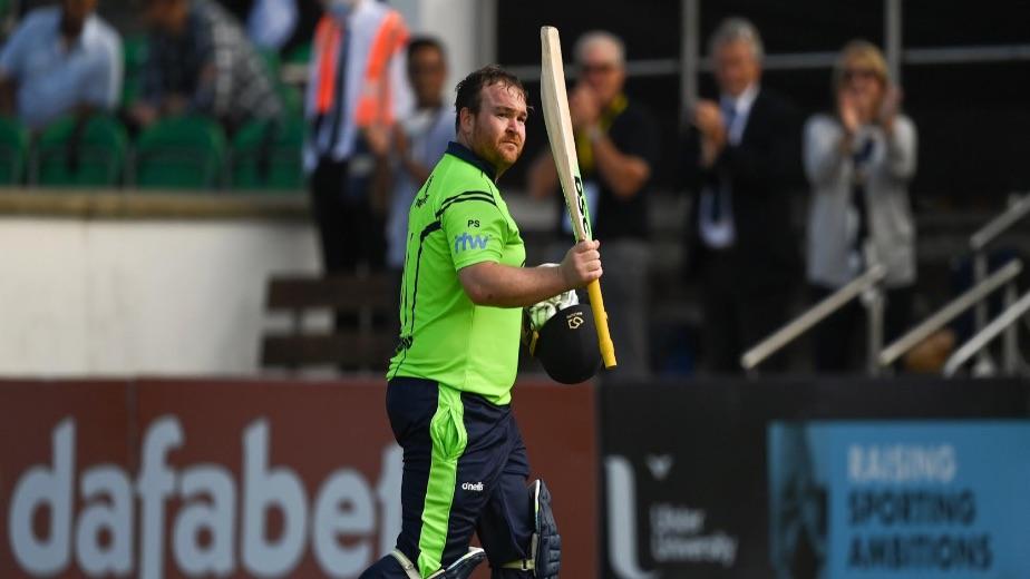 Ireland defeat Zimbabwe by 40 runs courtesy of Paul Stirling ton